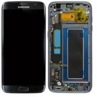 Samsung Galaxy S7 Edge (SM-G935F) LCD Display Replacement Glass - Black