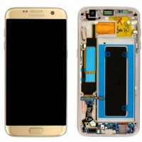 Samsung Galaxy S7 Edge (SM-G935F) LCD Display Replacement Glass - Gold