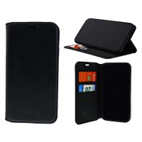 Bookcase For Motorola Moto E4 - Black