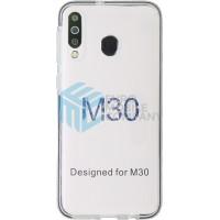 Samsung Galaxy M30 (SM-M305F) Anti Shock TPU - Black/Transparent