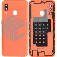 Samsung Galaxy A20e (SM-A202F) Battery Cover - Coral