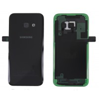 Samsung Galaxy A3 2017 (SM-A320F) Replacement Battery Cover - Black