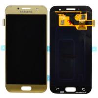 Samsung Galaxy A3 2017 (SM-A320F) LCD Display - Gold