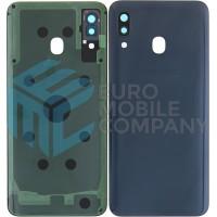 Samsung Galaxy A30 (SM-A305F) Battery Cover - Black