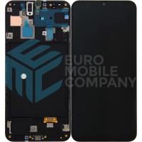 Samsung Galaxy A30 (SM-A305F) LCD Display + Touchscreen + Frame - Black