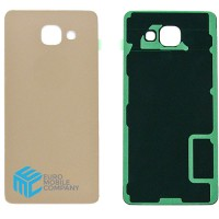Samsung Galaxy A7 2016 (SM-A710F) Replacement Battery Cover - Gold
