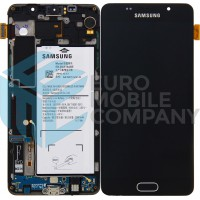 Samsung Galaxy A5 2016 SM-A510F Display Complete Pulled (A) - Black