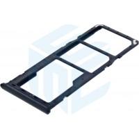 Samsung Galaxy A30 SM-A305F / Galaxy A50 SM-A505F Simcard Holder + Memorycard Holder - Black