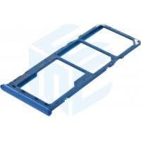 Samsung Galaxy A30 SM-A305F / Galaxy A50 SM-A505F Simcard Holder + Memorycard Holder - Blue