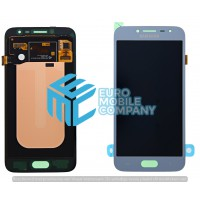 Samsung Galaxy J2 Pro 2018 (SM-J250F) LCD Complete - Silver