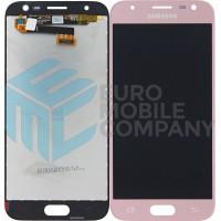 Samsung Galaxy J3 2017 (SM-J330F) LCD Complete - Pink