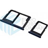 Samsung Galaxy J4 Plus (SM-J415)/ Galaxy J6 Plus (SM-J610) Sim + MicroSD Holder - Black