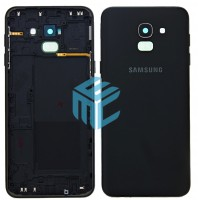 Samsung Galaxy J6 2018 (SM-J600F) Replacement Battery Cover - Black