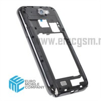Samsung Galaxy Note 2 (GT-N7100) Center Frame - Black