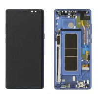 Samsung Galaxy Note 8 (SM-N950F) Display incl.Digitizer With Frame - Blue
