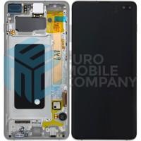 Samsung Galaxy S10 Plus SM-G975F (GH82-18849B) Display Complete - Prism White