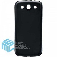 Samsung Galaxy S3 (GT-i9300) Replacement Battery Cover - Black