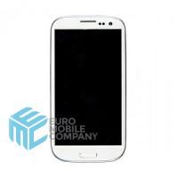 Samsung Galaxy S3 (GT-I9300)  LCD Display + Frame - White