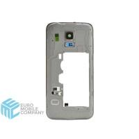 Samsung Galaxy S5 Mini (SM-G800F) Milddle Frame - White