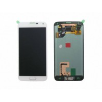 Samsung Galaxy S5 (SM-G900F) LCD Replacement Glass - White