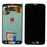 Samsung Galaxy S5 (SM-G900F) OEM LCD Replacement Glass - Black