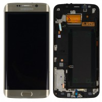 Samsung Galaxy S6 Edge (SM-G925F) Display - Gold
