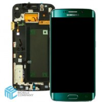 Samsung Galaxy S6 Edge (SM-G925F) Display - Green