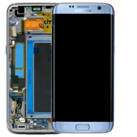 Samsung Galaxy S7 Edge (SM-G935F) LCD Display - Coral Blue