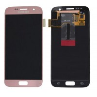Samsung Galaxy S7 SM-G930F (GH97-18523E) LCD Display - Rosé Gold