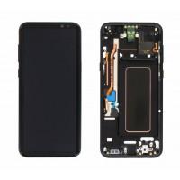 Samsung Galaxy S8 Plus (SM-G955F) Display incl. Digitizer + frame - Midnight Black (BLACK)