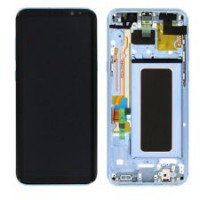 Samsung Galaxy S8 Plus (SM-G955F) GH97- 20564D Display with Digitizer + Frame  - Coral Blue