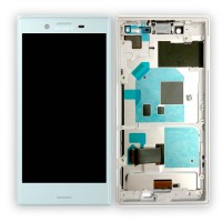 Sony Xperia X Compact Display + Digitizer + Frame - Blue