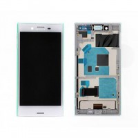 Sony Xperia X Compact Display + Digitizer + Frame - White