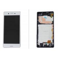 Sony Xperia X Performance Display + Frame - White