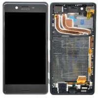 Sony Xperia X Performance Display+Digitizer+Frame - Graphite Black