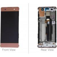 Sony Xperia XA Display+Digitizer + Frame - Rose Gold