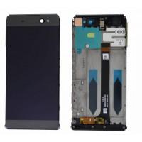 Sony Xperia XA Ultra LCD+Touchscreen+Frame - Black