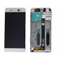 Sony Xperia XA Ultra LCD+Touchscreen+Frame - White