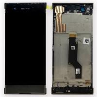 SONY XA1 Ultra Complete LCD module incl. frame- Black
