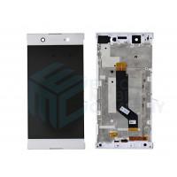 SONY XA1 Ultra Complete LCD module incl. frame- White