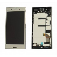 Sony XZ Premium LCD and Touch complete incl. Frame- Silver
