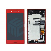 Sony XZ Premium LCD and Touch complete incl. Frame- Rosso Red