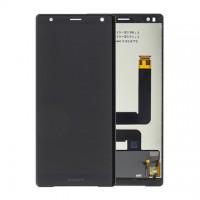 Sony Xperia XZ2 Display + Digitizer Complete - Liquid Black