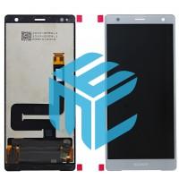 Sony Xperia XZ2 Display + Digitizer Complete - Liquid Silver