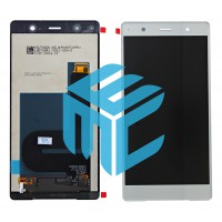 Sony Xperia XZ2 Premium LCD + Digitizer Complete - Chrome Silver