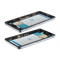 Sony Xperia Z2 Middle Frame - Black