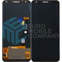 Google Pixel 3A XL Display + Digitizer OEM - Black