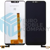 Wiko View 2 Plus LCD + Digitizer Complete + Frame - Black