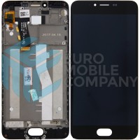 Meizu M5 LCD + Digitizer + Frame - Black