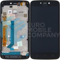 Motorola Moto C Plus XT1723 Display+Digitizer + Frame - Black